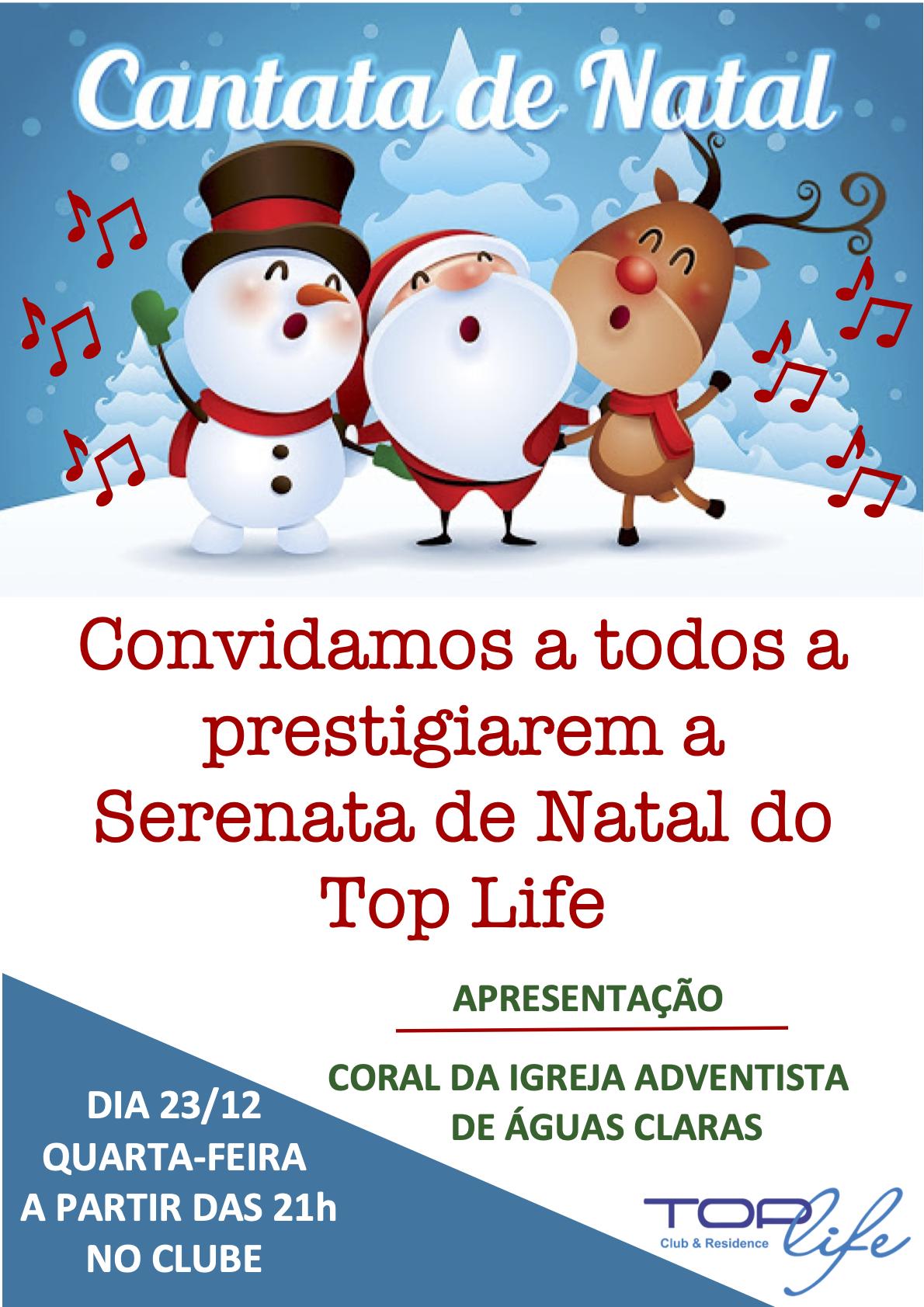 Serenata de Natal Top Life 2020