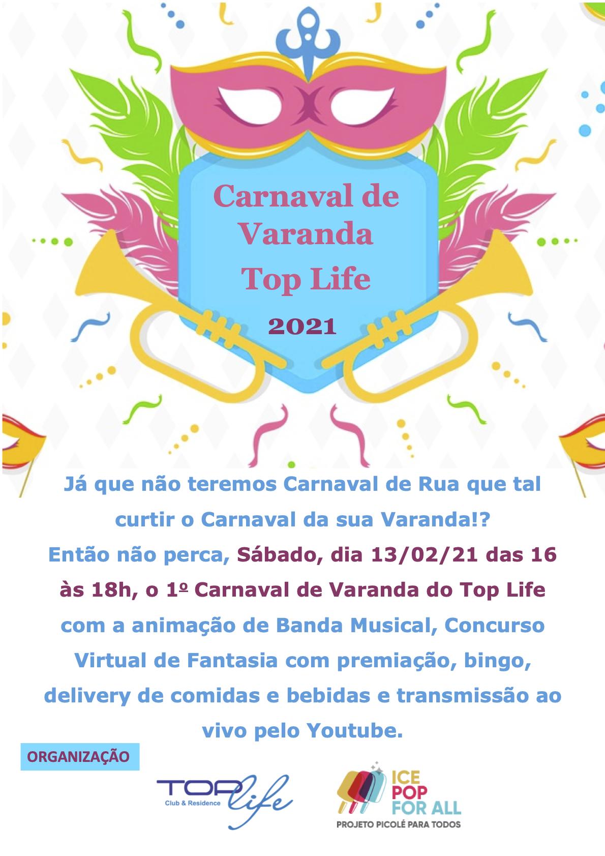 Carnaval de Varanda Top Life 2021